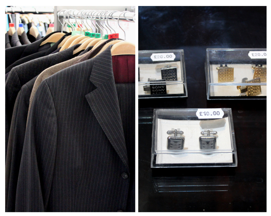 Designer Italian and British made suits and cuffs