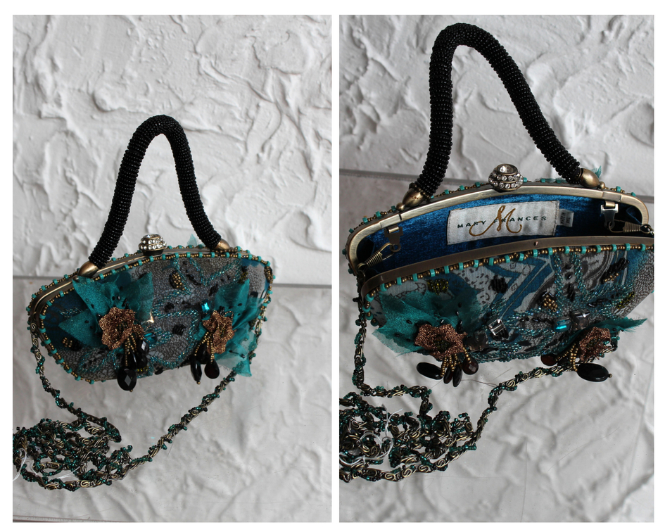 Mary Frances Hand Crafted Evening Bag