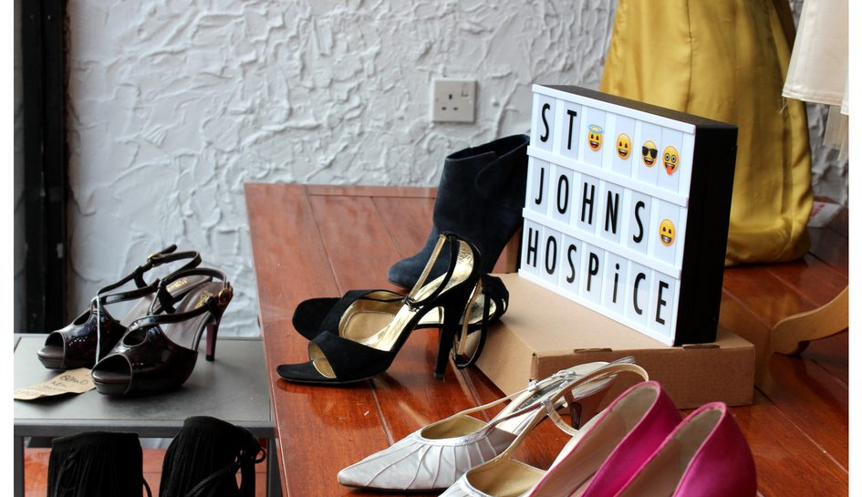 St John's Hospice Charity Shop Autumn